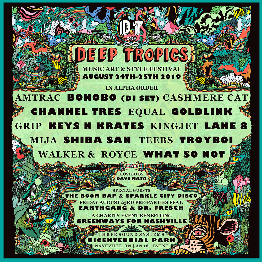 Deep Tropics Music, Art, and Style Festival